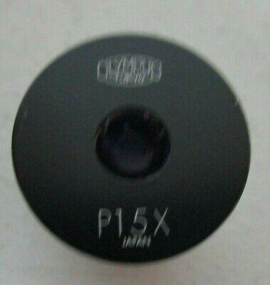 Olympus Microscope Eyepiece P15x Silver Black