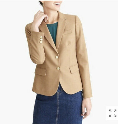 J.Crew 12 School Boy Blazer Wool