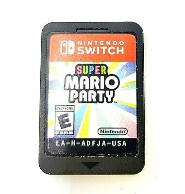 Super Mario Party Video Game (Nintendo Switch) [GAME ONLY - NO CASE]™
