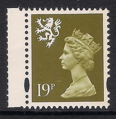 Scotland 1995 S82 19p litho right band booklet stamp MNH