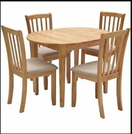 Homebase extended table and chairs