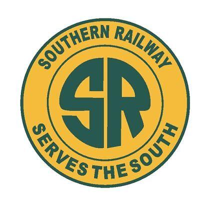 Southern Railway Sticker Decal R4662 Railway Railroad Train Sign YOU CHOOSE SIZE (Train Stickers)