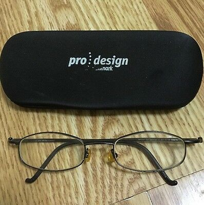 Pro Design Denmark Eyewear Eyeglasses Frame Better Collection 48▫️19 P.821 C.