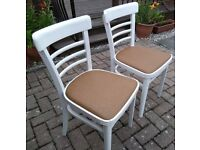 AAA Bargain seating, set of two lovely chairs with years of service to give,