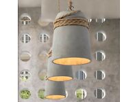 Stunning Concrete pendant Hanging lights