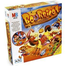 Xmas very fun and quick Bourricot MB Games Jeux 4+ yo
