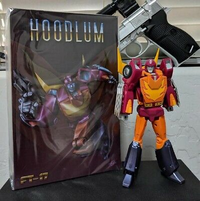 New in stock Transformers Iron FansToys FT-17 Hoodlum G1 Hot Rod Figure