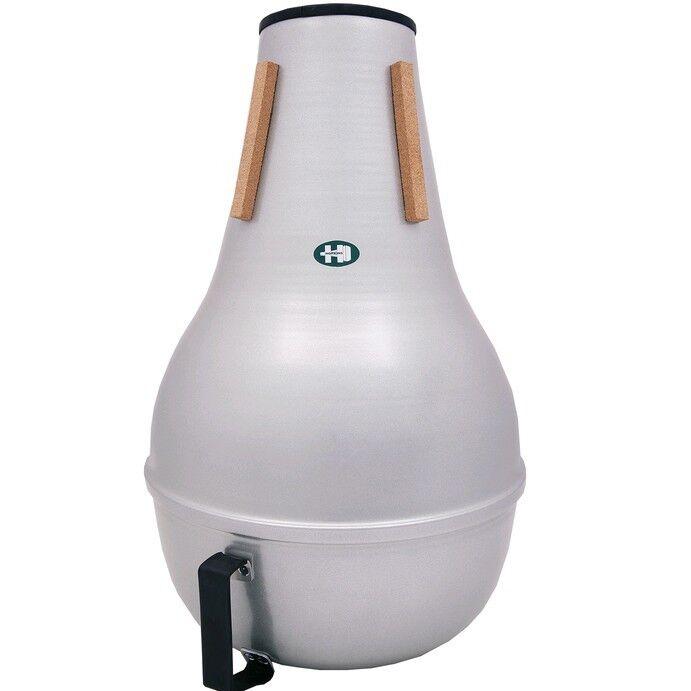 Tuba Bass Mute by Hopkins Free Carry Bag All Aluminium Professional Range.