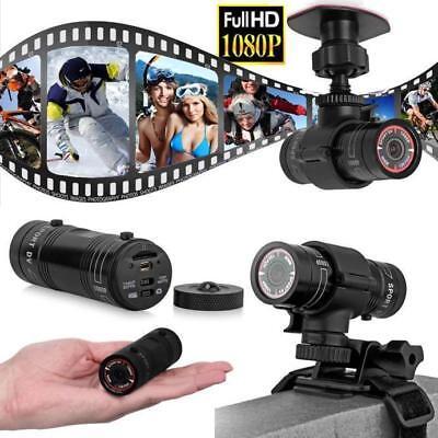 1080P HD Cámara de Vídeo Acción Deportivo Grabadora para Casco Bicicleta Coche