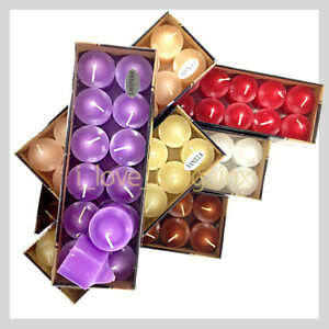 72pcs of ASSORTED COLOR SCENTED VOTIVE CANDLE CANDLES BULK 8 BURNING HOURS NEW