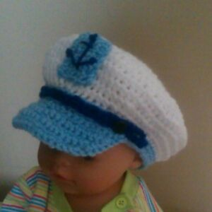 Crochet Infant Sailor Hat Only New Crochet Patterns