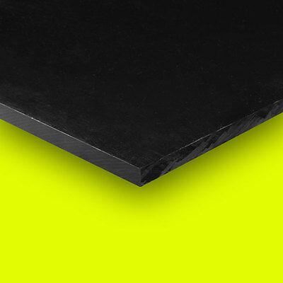 Delrin - Acetal Plastic Sheet 12 X 12 X 12 - Black Color