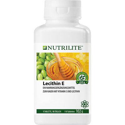110 Tabletten (NUTRILITE Lecithin E Kautabletten   Vitamin E   110 Tabletten   Amway   Amava)