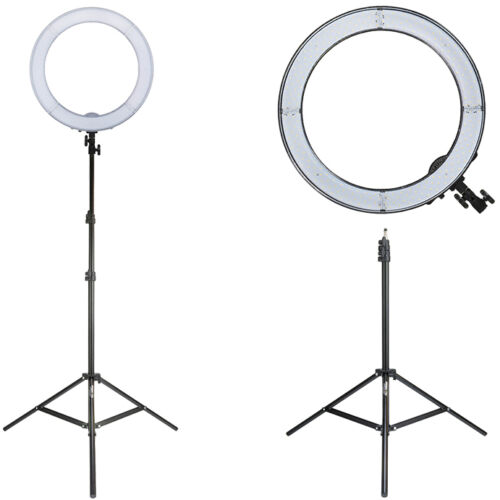 Prismatic Halo LED Ring Light w/ Prismatic Light Stand