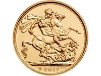 GOLD SOVEREIGNS WANTED