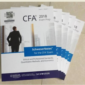 2018 CFA study notes and practice exams for Level 2