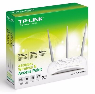TP-Link TL-WA901ND 450Mbps Wireless N Access Point (EU) Brand New