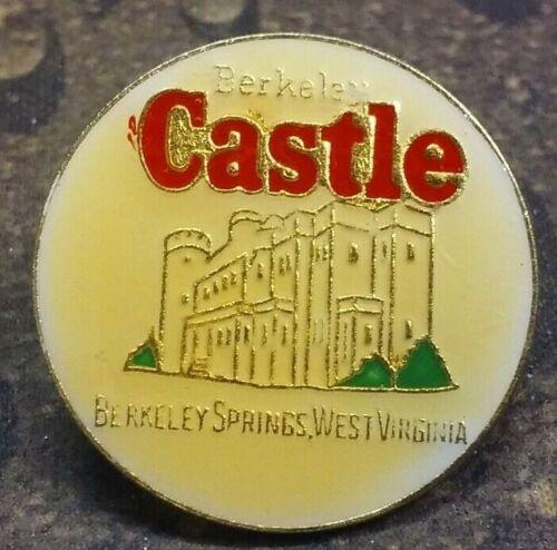 Berkeley Castle pin badge Berkeley Springs, West Virginia