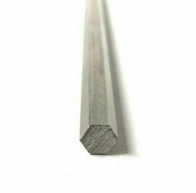 516 .3125 Stainless Steel Hex Rod Bar Hexagonal 304 24 Piece