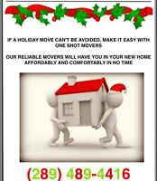 Can't Avoid A Holiday Move? No Problem! Save $$$ With Us