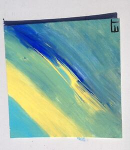 Abstract painting (8 by 8)