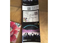 Rihanna Anti Tour - Club Wembley seats