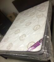 "NEW Double 54""x74"", 12"" Euro Pillow-top Mattress Only $350!!!"