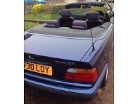 BMW 3 Series Convertible E36