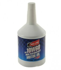 Red Line 10W-60 BMW M series Z series Motor Oil 1 Quart 11704