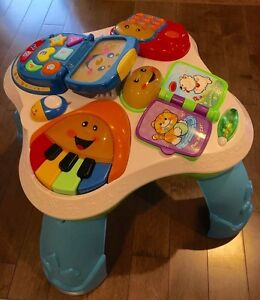Fisher Price Play and Learn Activity Table