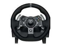Logitech Xbox One Steering Wheel Bundle