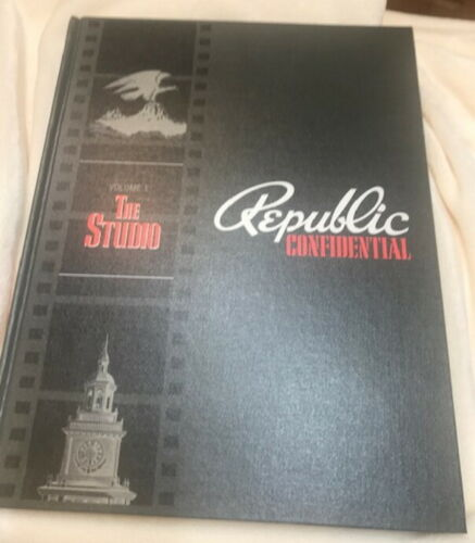 """Republic Confidential  Volume 1""""The Studio"""" by  Jack Mathis Very RARE Book!"""