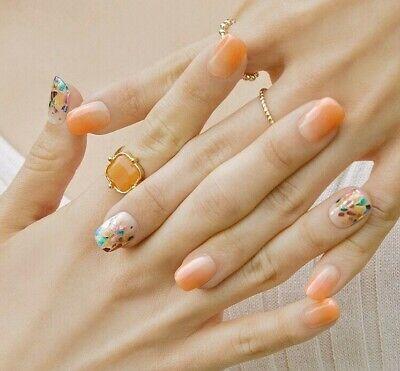 [Ohora] Self Gel Nail Art Patch 30pcs N Melusine K-beauty