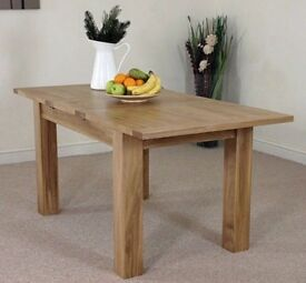 Extending Oak Table