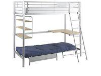Kids high sleeper bed brand new boxed