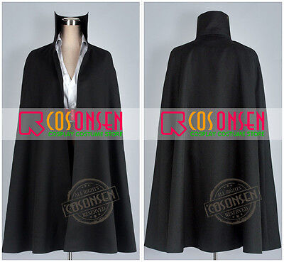 Anime One Piece Red-Haired Shanks Cosplay Costume Cosonsen All Sizes