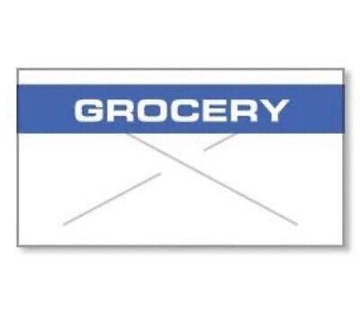 Garvey Gx2212 Label White Blue Grocery Rc 2212-05310 Price Gun 9 Rolls 11000 Ct