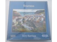 Gibsons 1000 Piece Jigsaw Puzzle : Staithes (sealed)