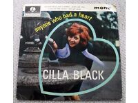 CILLA BLACK: ANYONE WHO HAD A HEART. PICTURE SLEEVE EP. 1964