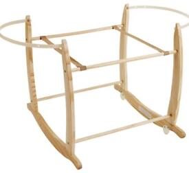Clair de Lune Deluxe moses basket Rocking Stand