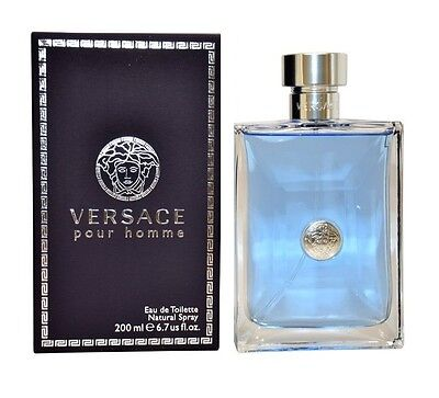 VERSACE POUR HOMME MEN 6.7 OZ 200 ML EDT SPRAY NIB SEALED