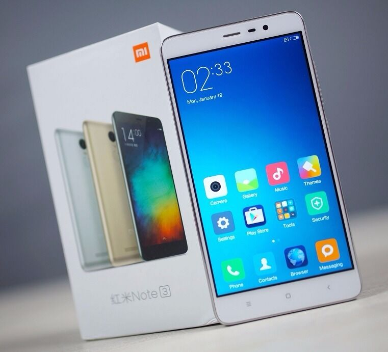 New Xiaomi Redmi Note 3 PRO 55 Snapdragon 650 3GB RAM 32GB ROM Dual Sim