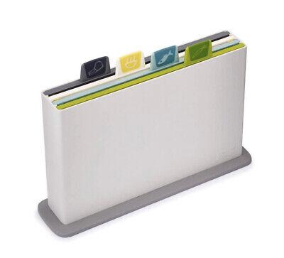 Joseph Joseph 60113 Index Cutting Board Set with Storage Case Plastic Opal .