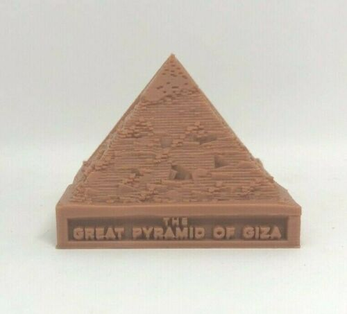 Great Pyramid Of Giza Figurine-2 Part Display Model