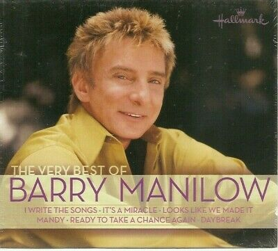 The Very Best of Barry Manilow NEW CD Hallmark 15