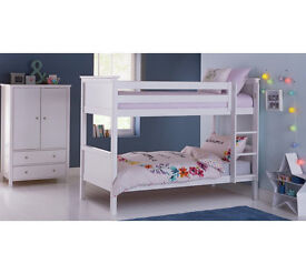Kingston Bunk Bed - White
