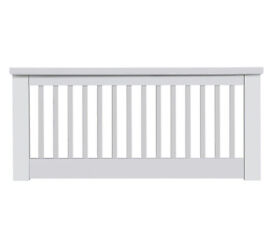 Aubrey Small Double Headboard - White