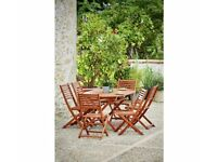 Newbury six seater patio set from Argos £125