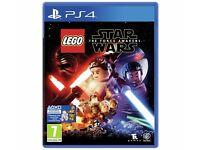 Lego star wars ps4 brand new still sealed