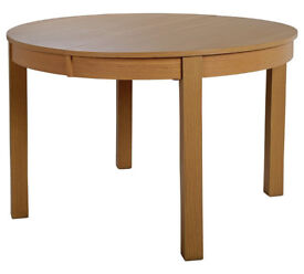 Massey Wood Effect Extendable Oval Dining Table
